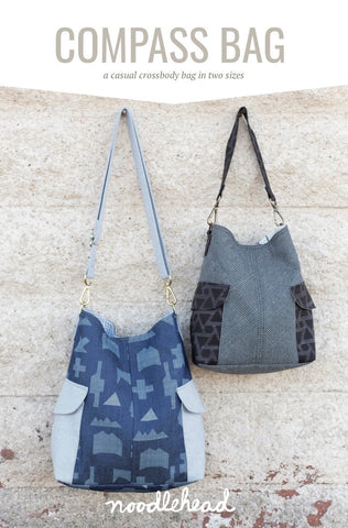 Noodlehead Sewing Pattern - Compass Bag