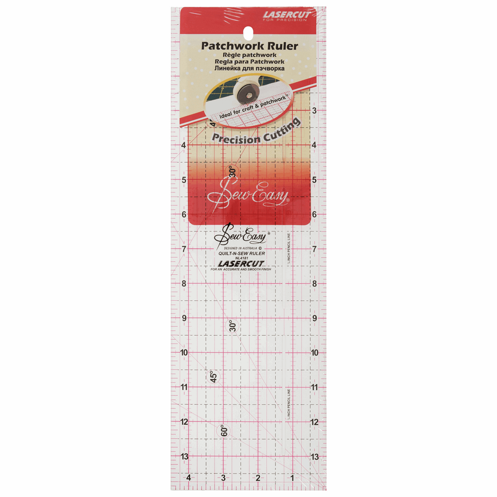 "Sew Easy Patchwork Quilting Ruler - 14"" x 4.5"""