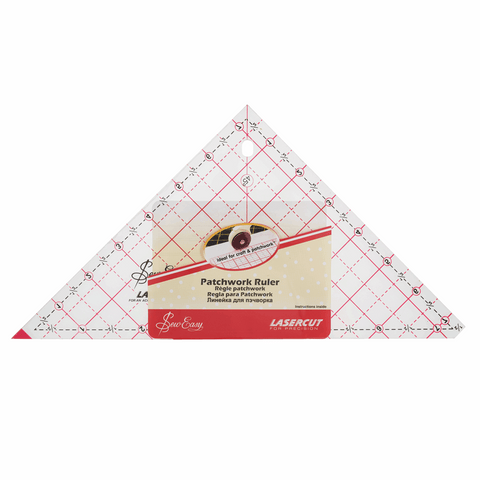 "Sew Easy 7.5"" Triangle Quilting Template"