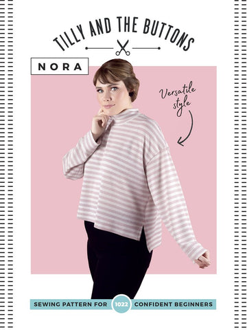 Tilly & The Buttons Sewing Pattern - Nora Top