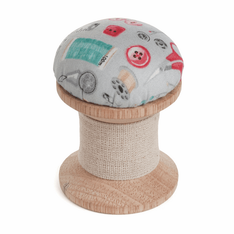 Stitch in Time Cotton Reel Pin Cushion