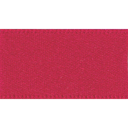 10mm NewLife Recycled Double Faced Satin Ribbon - Red