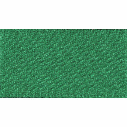 10mm NewLife Recycled Double Faced Satin Ribbon - Hunter Green