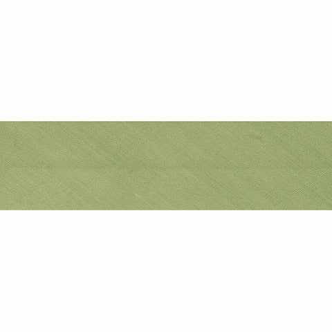 "25mm/1"" Polycotton Bias Binding - Sage"