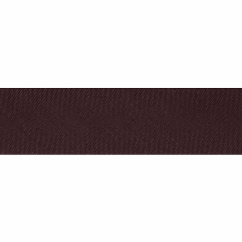 25mm/1 inch Polycotton Bias Binding - Chocolate