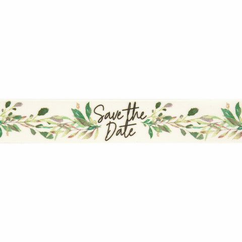 Save the Date Vine Ribbon