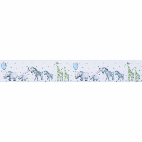 25mm Animal Parade Ribbon