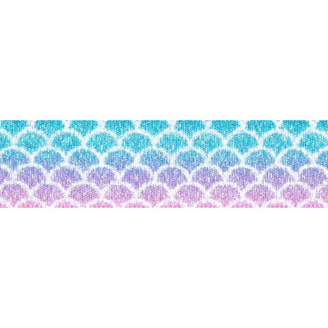 25mm Mermaid Shimmer Ribbon