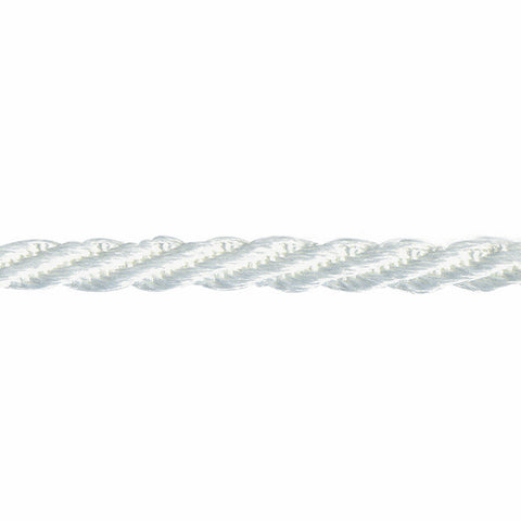 Woven Twist Cord 5mm - White