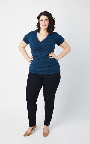 Cashmerette Sewing Pattern - Dartmouth Top