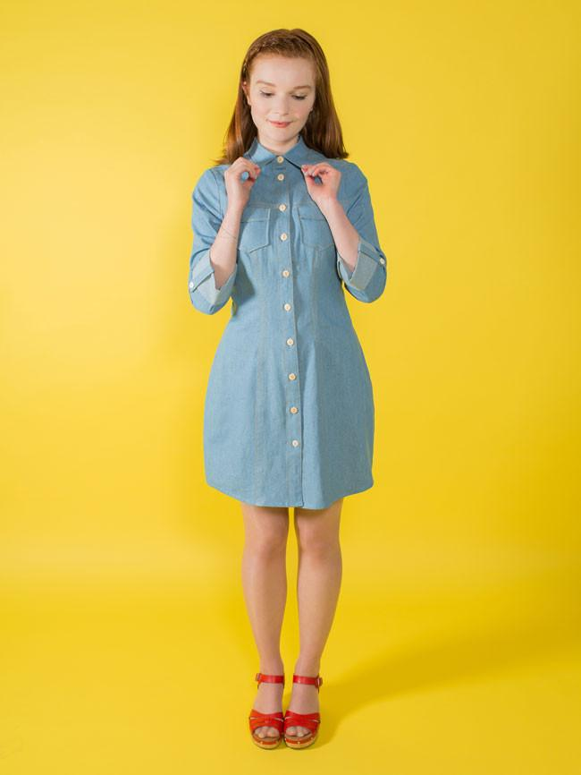 Tilly & The Buttons - Rosa Pattern