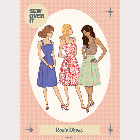 Sew Over It Sewing Pattern - Rosie Dress