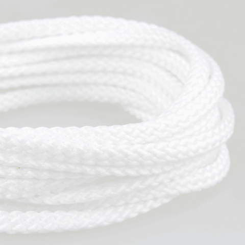 6mm Polyester Cord - White