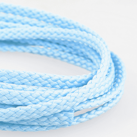 6mm Polyester Cord - Sky Blue