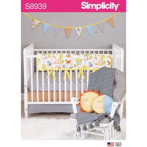 Simplicity Sewing Pattern S8939 - Nursery Decor
