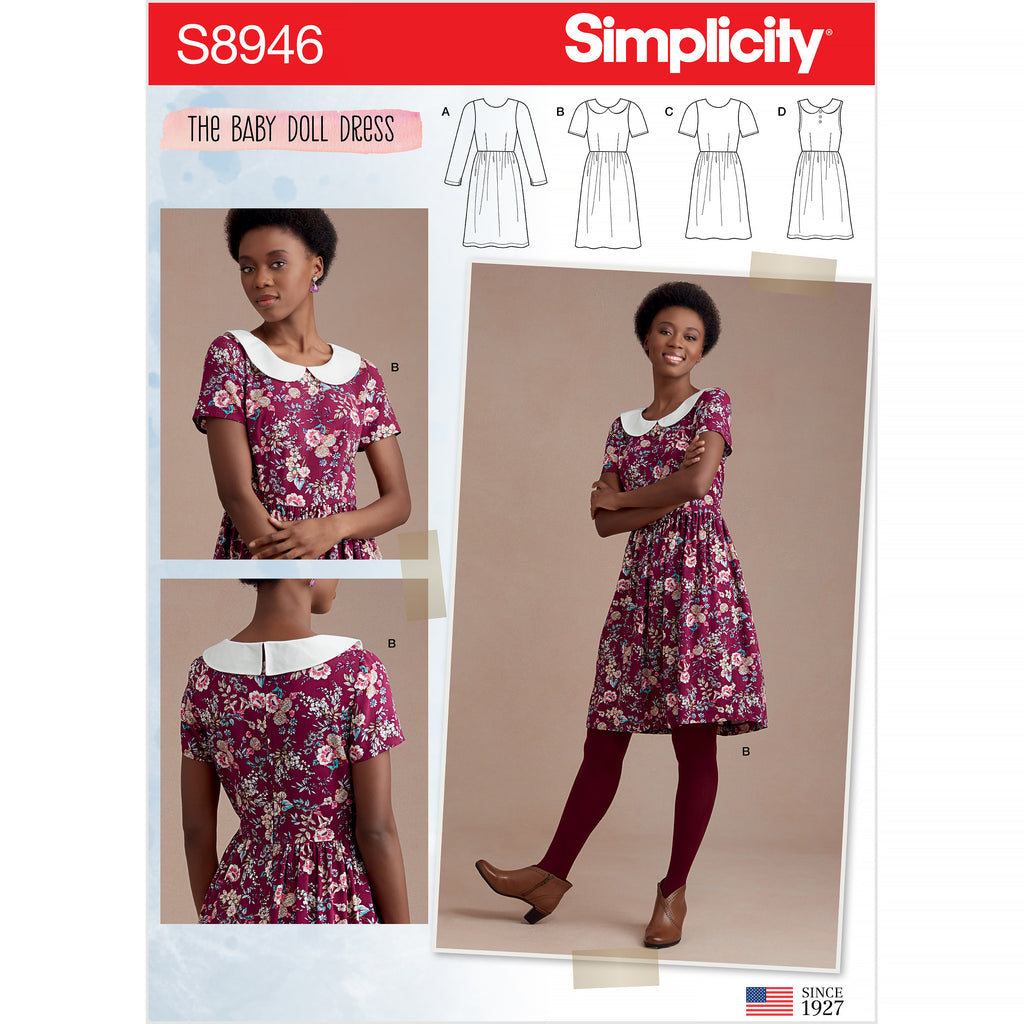 Simplicity Sewing Pattern S8946 - Misses' Dresses