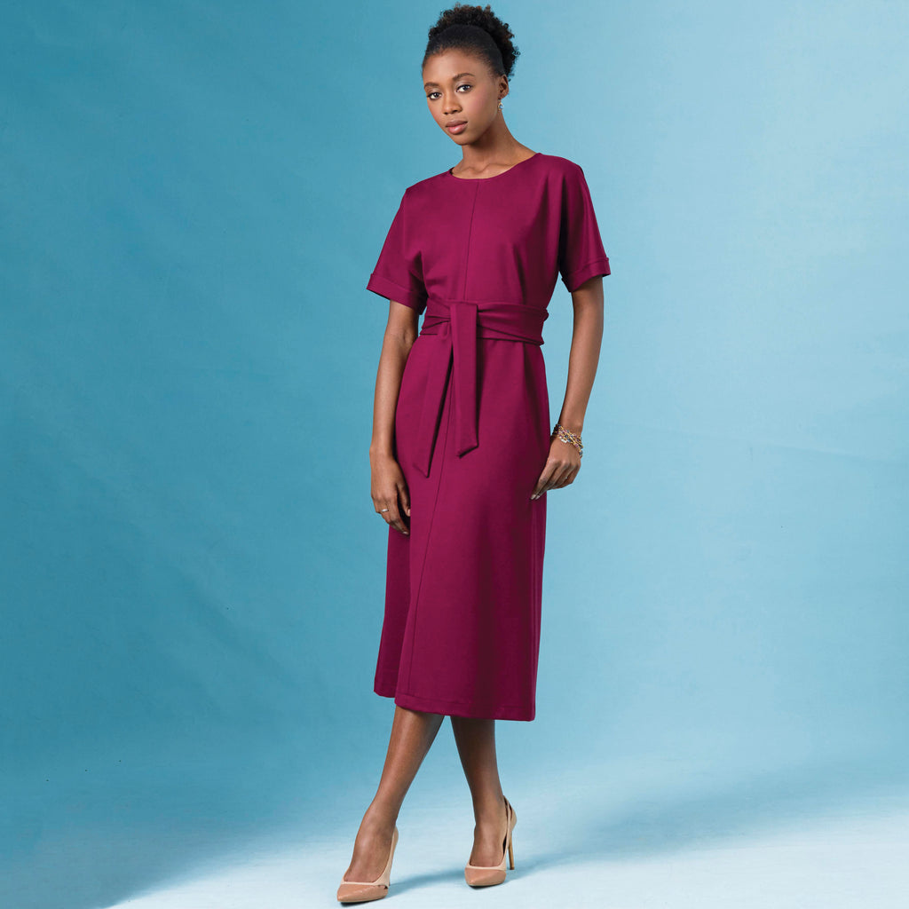 SIMPLICITY SEWING PATTERN S8984 MISSES/' POCKET DRESSES