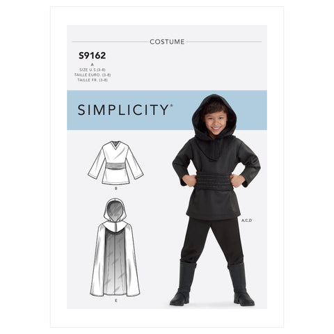 Simplicity Sewing Pattern S9162 - Children's Costumes