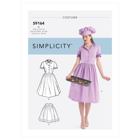 Simplicity Sewing Pattern S9164 - Misses' Costumes