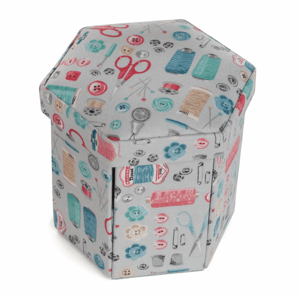Stitch in Time Hexagonal Sewing Kit