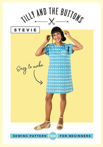 Tilly & The Buttons Sewing Pattern - Stevie Top/Dress