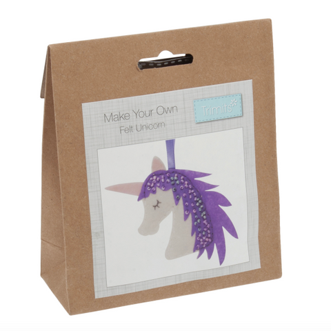 Trimits Felt Unicorn Decoration Kit