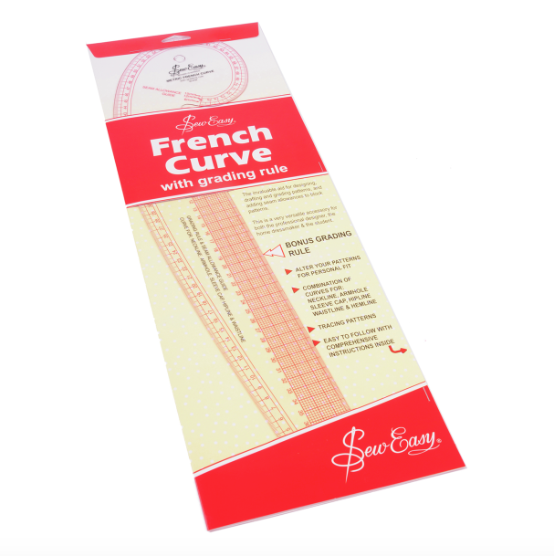 Sew Easy French Curve - Metric