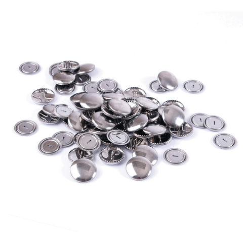 11mm Metal Self Cover Button