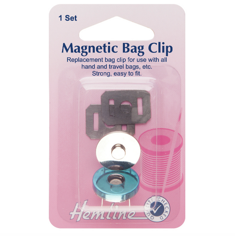 Hemline 19mm Magnetic Bag Clasp