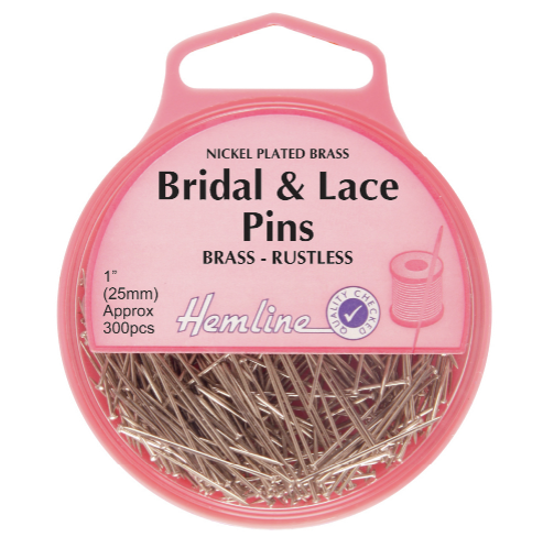 Hemline Bridal and Lace Pins
