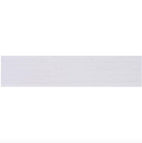 24mm Premium White Cotton Tape