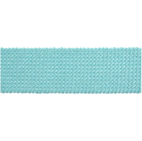 40mm Webbing - Light Aqua