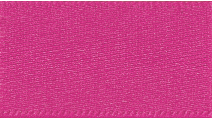 25mm Double Faced Satin Ribbon - Fuchsia