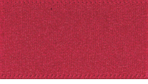 10mm Double Faced Satin Ribbon - Scarlet Berry