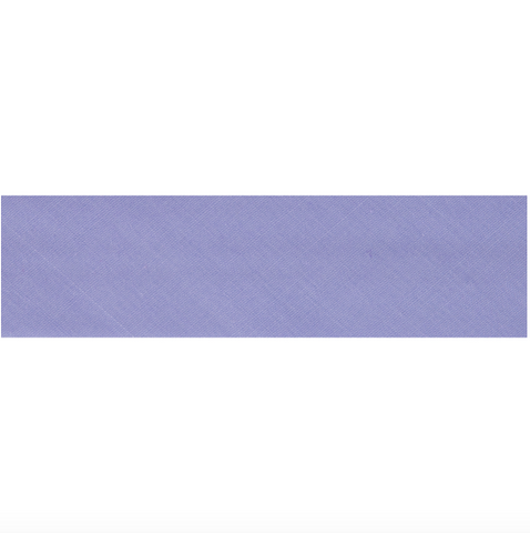 "25mm/1"" Polycotton Bias Binding - Heather"