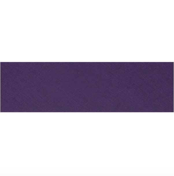 "25mm/1"" Polycotton Bias Binding - Purple"