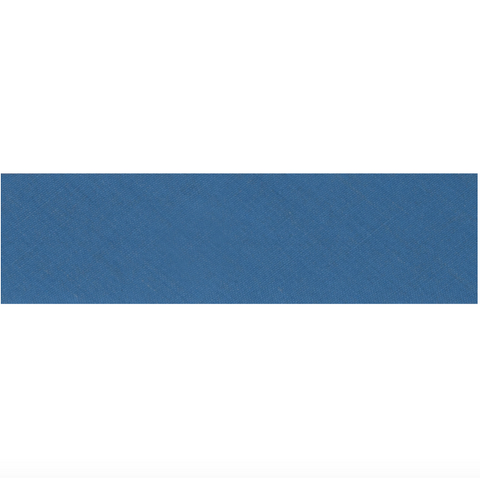 "25mm/1"" Polycotton Bias Binding - Wedgwood Blue"