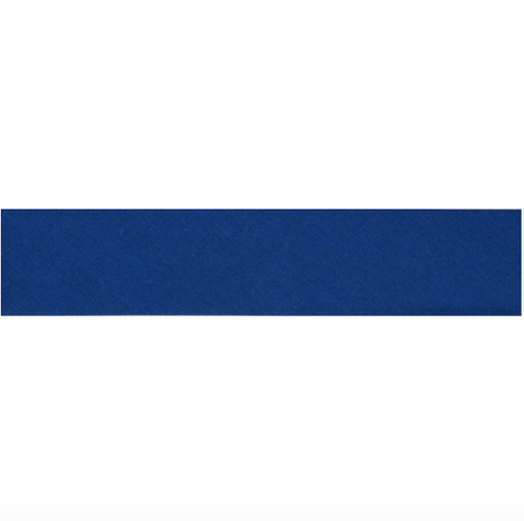 "13mm/1/2"" Polycotton Bias Binding - Royal Blue"
