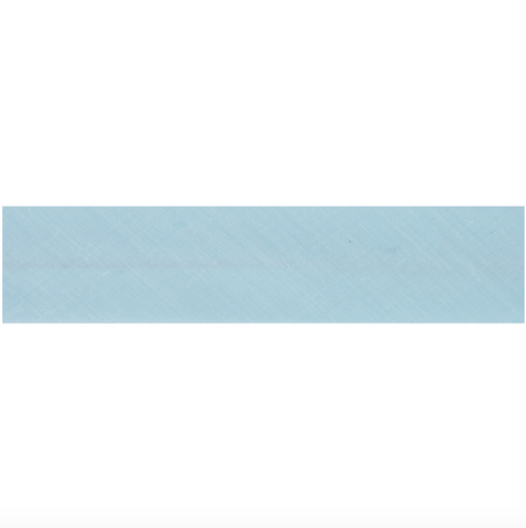 "13mm/1/2"" Polycotton Bias Binding - Sky Blue"