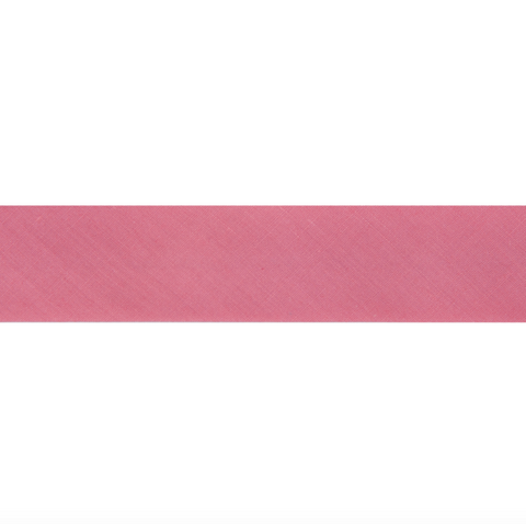 "13mm/1/2"" Polycotton Bias Binding - Pink"