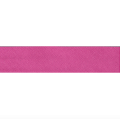 "25mm/1"" Polycotton Bias Binding - Rose Pink"