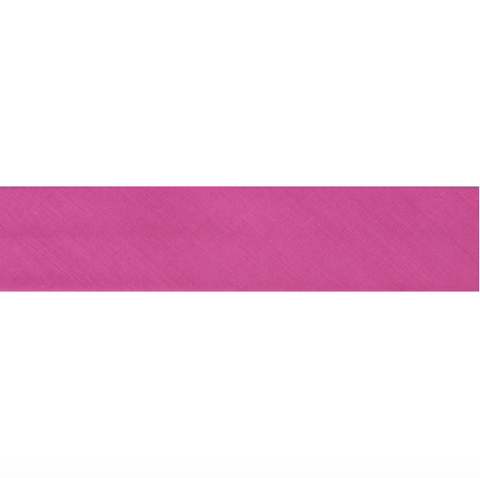 "13mm/1/2"" Polycotton Bias Binding - Rose Pink"