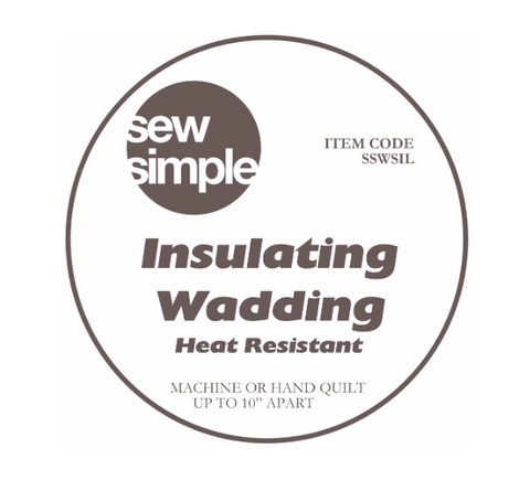 Sew Simple Heat Resistant Insulating Wadding
