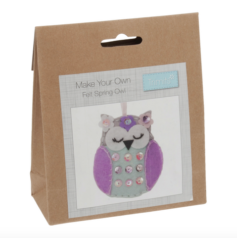 Trimits Felt Owl Decoration Kit