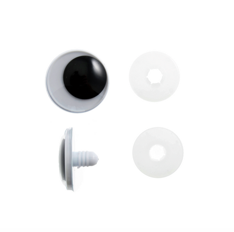 15mm Toy Safety Eyes - Googly