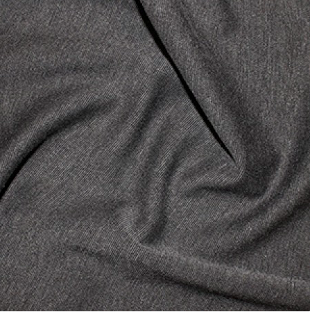 Marl Grey Plain Ponte Roma Fabric
