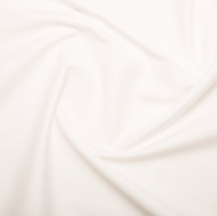Plain White Cotton Lawn Fabric