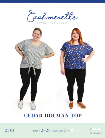 Cashmerette Sewing Pattern - Cedar Dolman Top