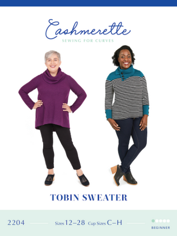 Cashmerette Sewing Pattern - Tobin Sweater