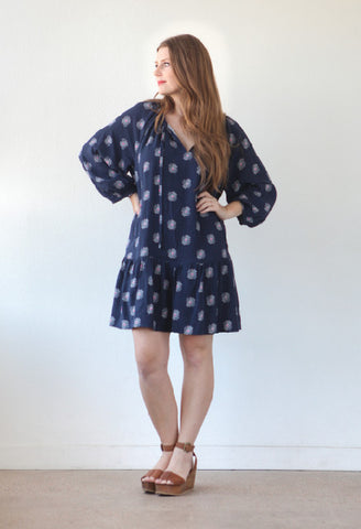 True Bias Sewing Pattern - Roscoe Blouse & Dress